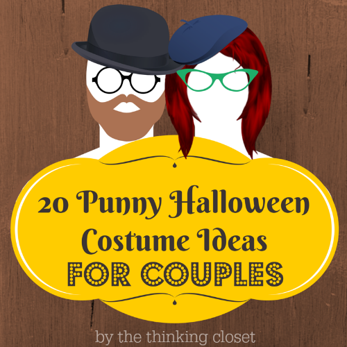 ... dynamic duos! There are some great last minute Halloween costume ideas